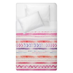 Watercolor Tribal Pattern Duvet Cover (single Size)