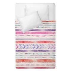 Watercolor Tribal Pattern Duvet Cover Double Side (single Size)