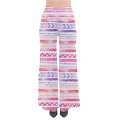 Watercolor Tribal Pattern So Vintage Palazzo Pants