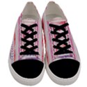 Watercolor Tribal Pattern Men s Low Top Canvas Sneakers View1