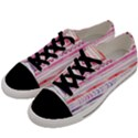 Watercolor Tribal Pattern Men s Low Top Canvas Sneakers View2