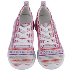 Watercolor Tribal Pattern Women s Lightweight Sports Shoes