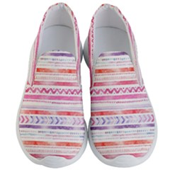 Watercolor Tribal Pattern Men s Lightweight Slip Ons