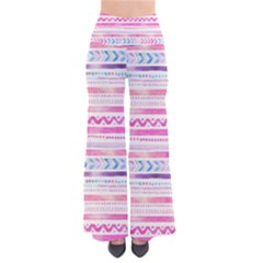 Watercolor Tribal Pattern  So Vintage Palazzo Pants by tarastyle
