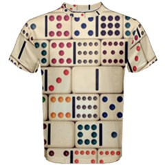 Old Domino Stones Men s Cotton Tee by Sapixe