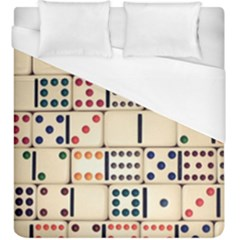 Old Domino Stones Duvet Cover (king Size) by Sapixe