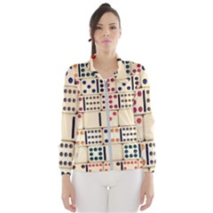Old Domino Stones Wind Breaker (women) by Sapixe
