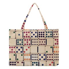 Old Domino Stones Medium Tote Bag
