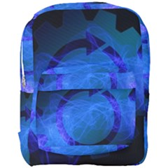 Particles Gear Circuit District Full Print Backpack by Sapixe