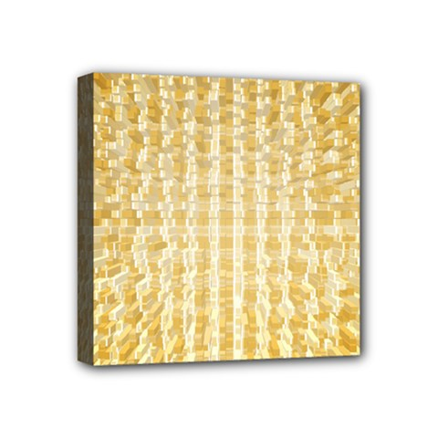 Pattern Abstract Background Mini Canvas 4  X 4