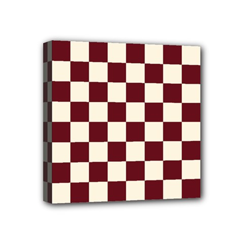 Pattern Background Texture Mini Canvas 4  x 4