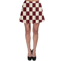 Pattern Background Texture Skater Skirt