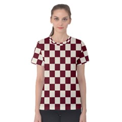 Pattern Background Texture Women s Cotton Tee