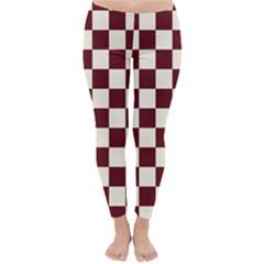 Pattern Background Texture Classic Winter Leggings
