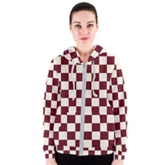Pattern Background Texture Women s Zipper Hoodie