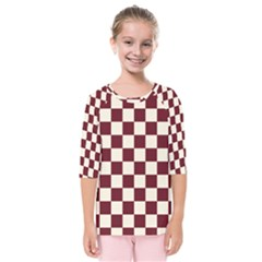 Pattern Background Texture Kids  Quarter Sleeve Raglan Tee