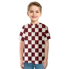 Pattern Background Texture Kids  Sport Mesh Tee