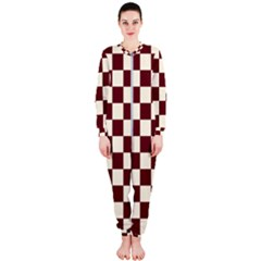 Pattern Background Texture OnePiece Jumpsuit (Ladies)