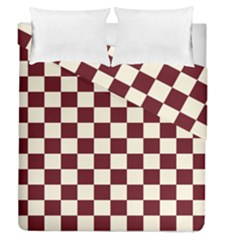 Pattern Background Texture Duvet Cover Double Side (Queen Size)