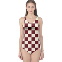 Pattern Background Texture One Piece Swimsuit