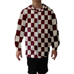 Pattern Background Texture Hooded Wind Breaker (Kids)
