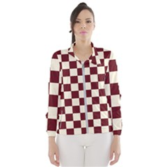 Pattern Background Texture Wind Breaker (Women)