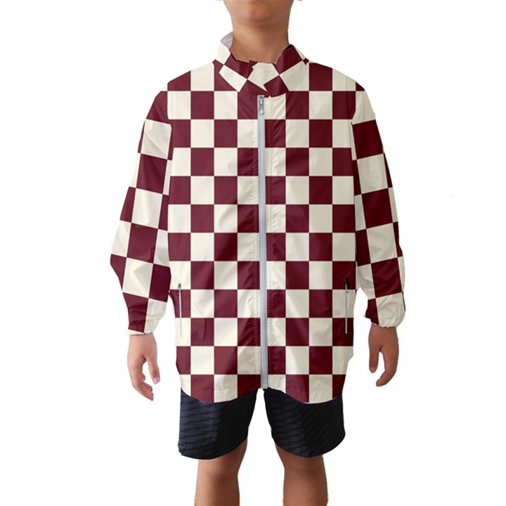Pattern Background Texture Wind Breaker (Kids)