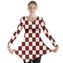 Pattern Background Texture Long Sleeve Tunic  View1