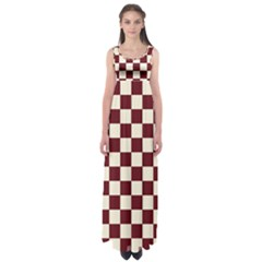 Pattern Background Texture Empire Waist Maxi Dress
