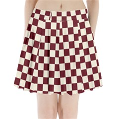 Pattern Background Texture Pleated Mini Skirt