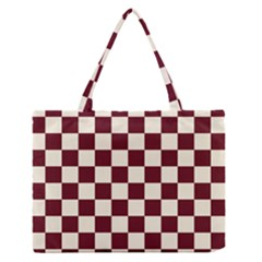 Pattern Background Texture Zipper Medium Tote Bag
