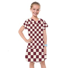 Pattern Background Texture Kids  Drop Waist Dress