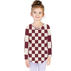 Pattern Background Texture Kids  Long Sleeve Tee