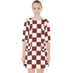 Pattern Background Texture Pocket Dress