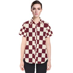 Pattern Background Texture Women s Short Sleeve Shirt