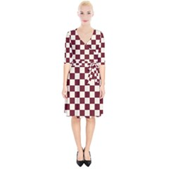 Pattern Background Texture Wrap Up Cocktail Dress
