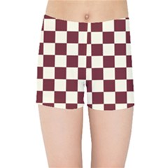 Pattern Background Texture Kids Sports Shorts