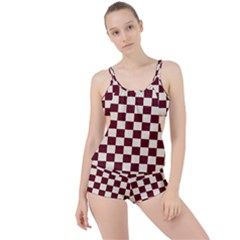 Pattern Background Texture Boyleg Tankini Set