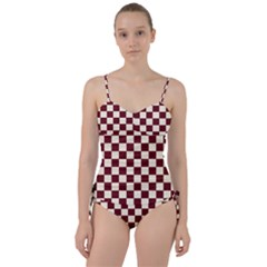 Pattern Background Texture Sweetheart Tankini Set
