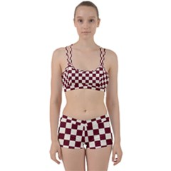 Pattern Background Texture Women s Sports Set