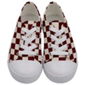 Pattern Background Texture Kids  Low Top Canvas Sneakers View1