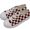 Pattern Background Texture Kids  Low Top Canvas Sneakers View2