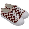 Pattern Background Texture Kids  Low Top Canvas Sneakers View3