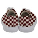 Pattern Background Texture Kids  Low Top Canvas Sneakers View4