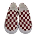 Pattern Background Texture Women s Canvas Slip Ons View1