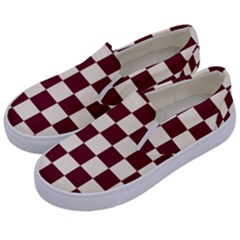 Pattern Background Texture Kids  Canvas Slip Ons