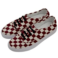 Pattern Background Texture Men s Classic Low Top Sneakers