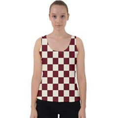 Pattern Background Texture Velvet Tank Top