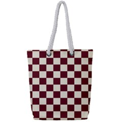 Pattern Background Texture Full Print Rope Handle Tote (Small)
