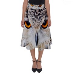 Owl Face Perfect Length Midi Skirt